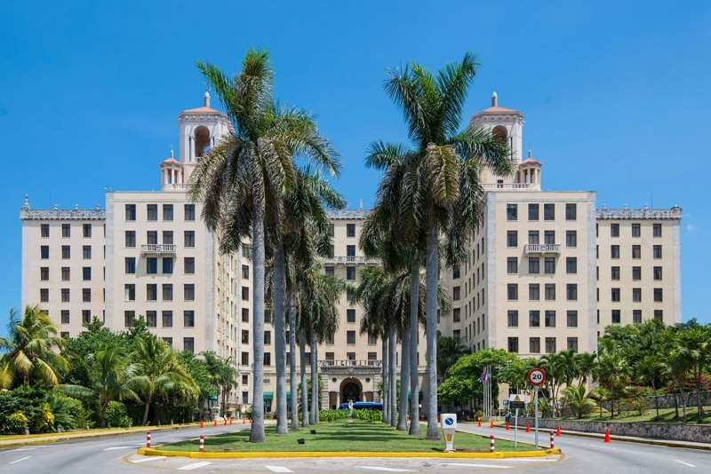 Nacional Hotel Havana external view of hotel