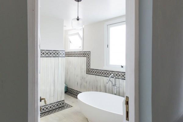 Paseo 206 Rooftop Suite Bathroom