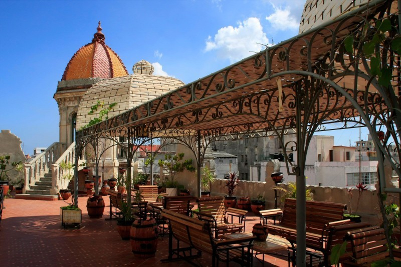 Hotel Raquel Havana Rooftop Terrace