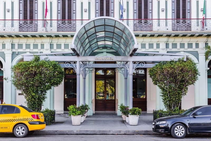 Saratoga Hotel Havana Hotel Entrance
