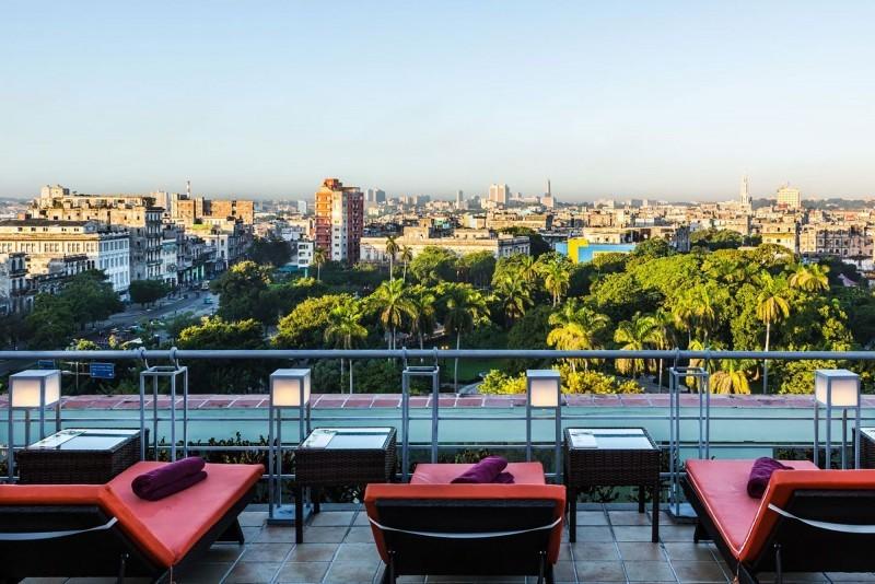 Saratoga Hotel Havana Rooftop View Over Havana