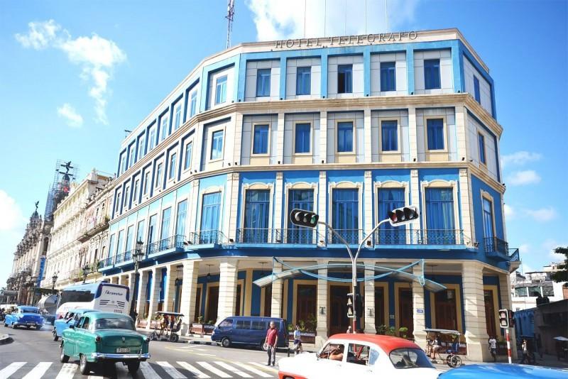 Telegrafo Hotel Havana Exterior of Hotel