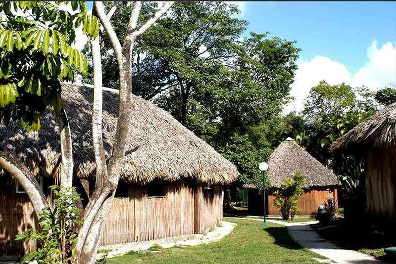 Los Caneyes Santa Clara Thatched Huts