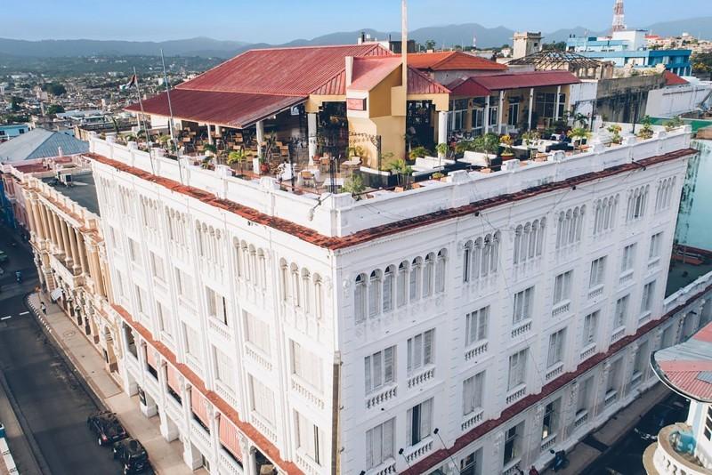 Hotel Casagranda Santiago de Cuba external view of hotel