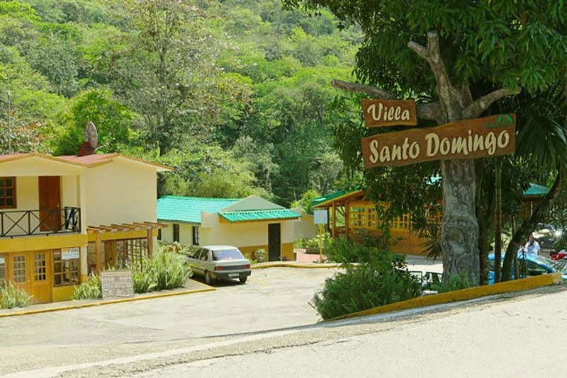 Villa Santo Domingo Entrance