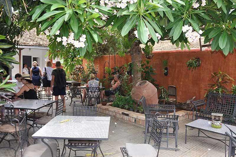 Casa Real 54 Trinidad Cuba Garden Patio