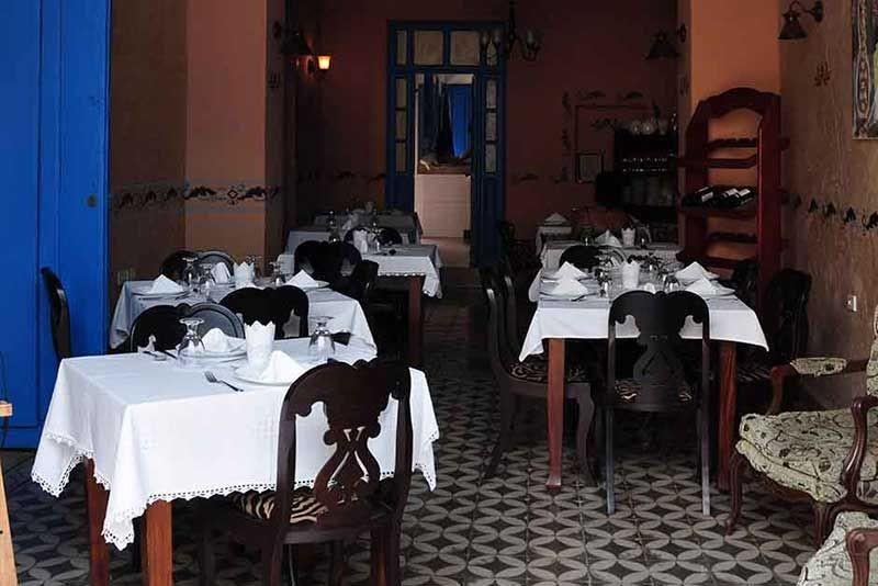 Hostal Lola Trinidad Cuba Dining Room
