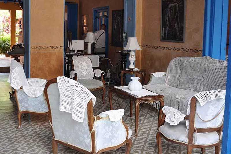 Hostal Lola Trinidad Cuba Seating Area