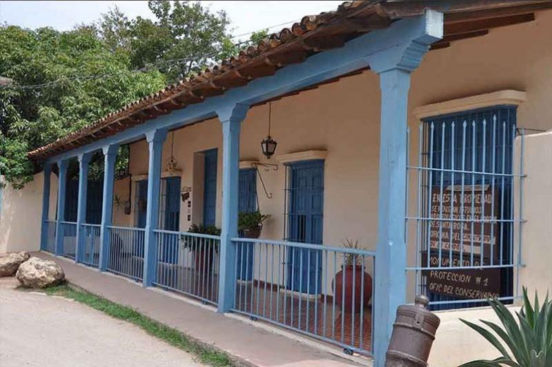 La Casona Trinidad Cuba External View