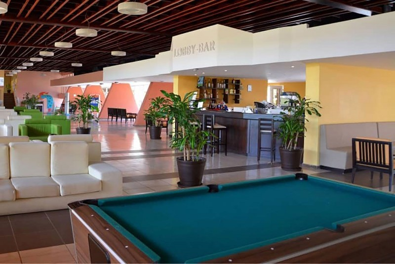 Bravo Club Arenal Lobby Bar Pool Room