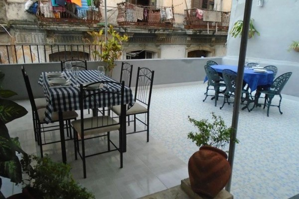 Casa Buenos Aires Havana terrace
