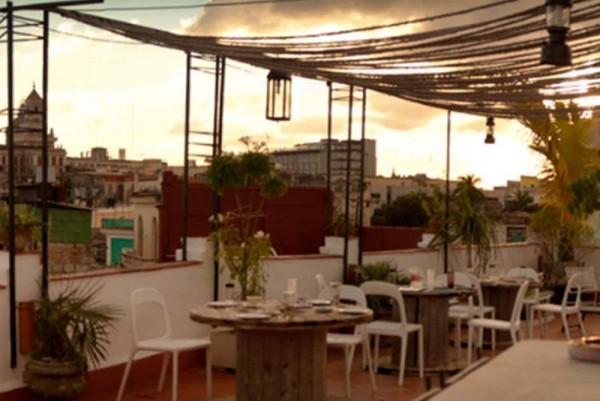 Casa Vitrales Havana roof terrace
