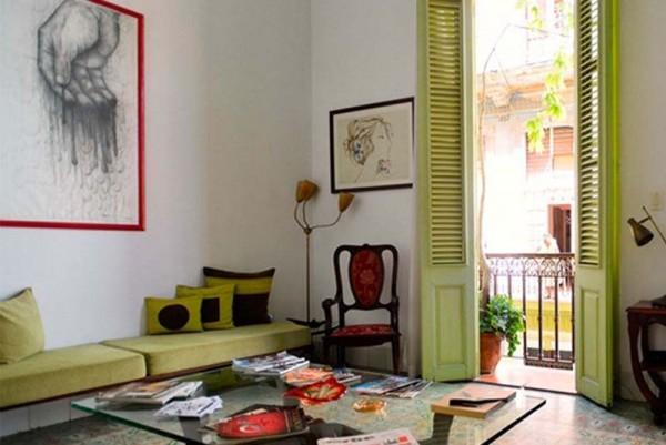Casa Vitrales Havana seating area