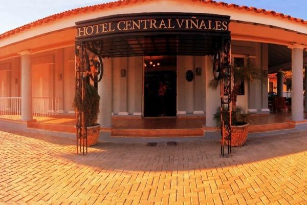 E Central Hotel Entrance