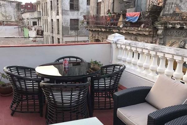 El Madero Havana rooftop terrace