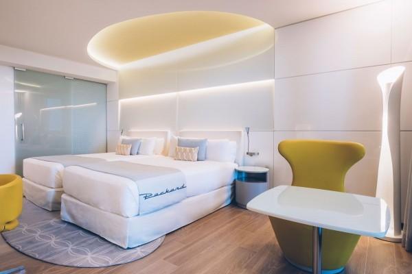 Grand Packard Hotel Havana Deluxe Room Bedroom