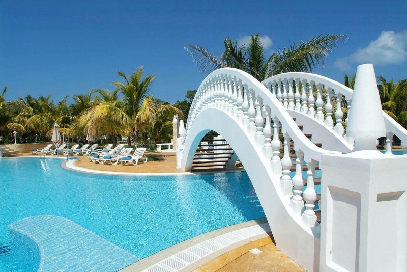 Iberostar Ensenachos Bridge Over Swimming Pool
