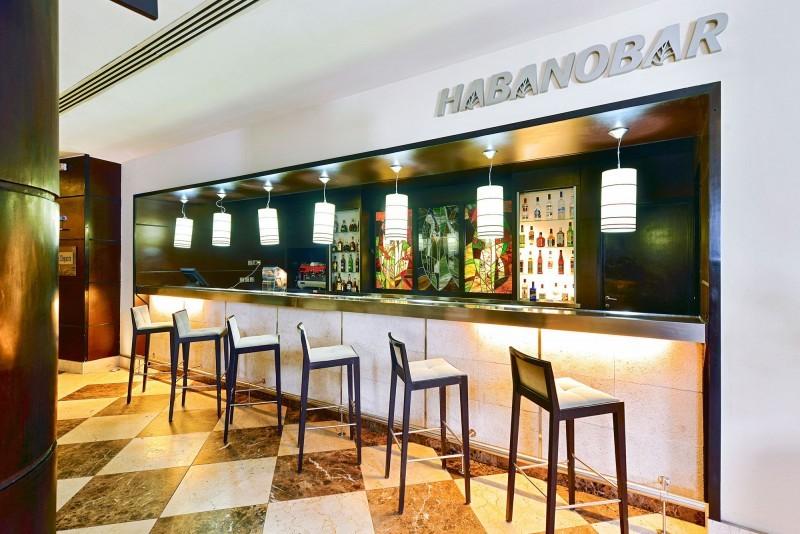 Iberostar Parque Central Havana hotel lobby bar