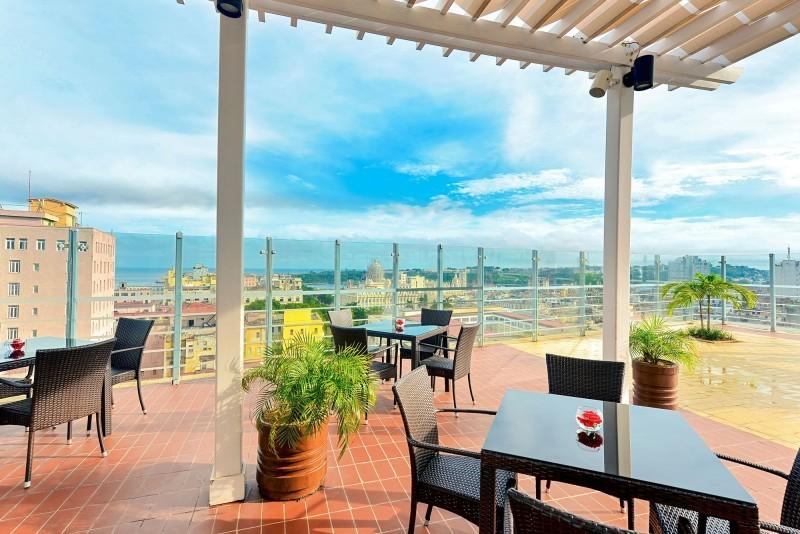 Iberostar Parque Central Havana hotel roof terrace
