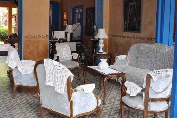 Hostal Lola Trinidad Cuba Seating Area