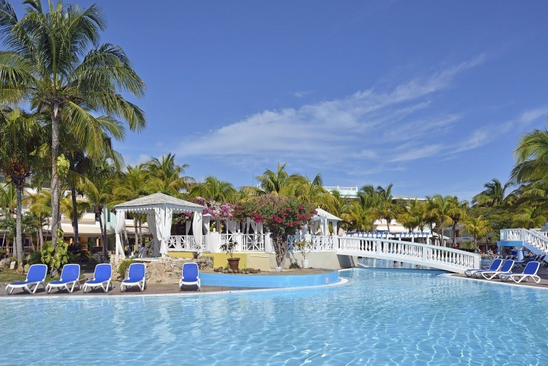 Melia Cayo Guillermo Swimming Pool with Bridge