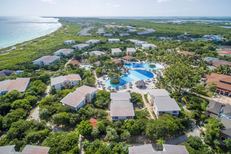 Melia Cayo Santa Maria Aerial View Of Resort
