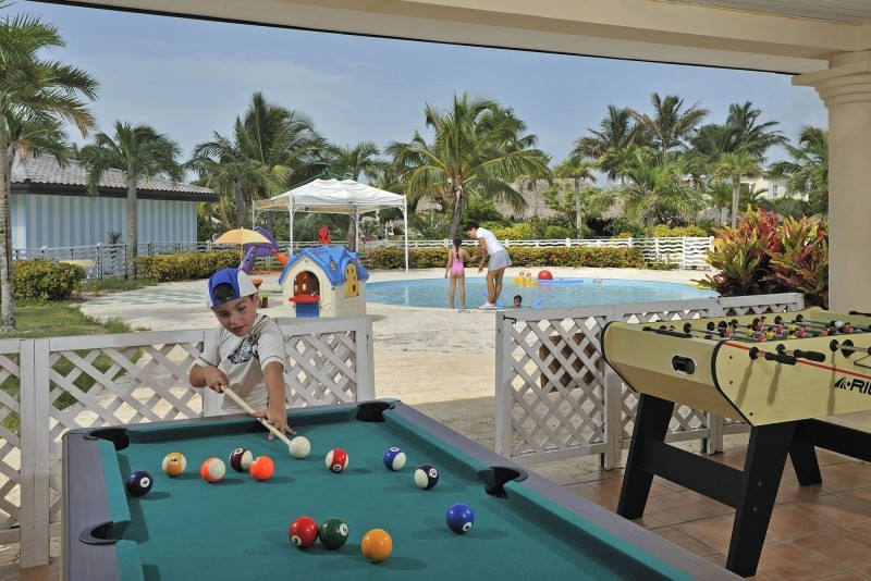 Melia Cayo Santa Maria Childrens Outside Play Area