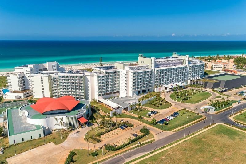 Melia Internacional Hotel Aerial View