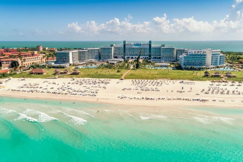 Melia Internacional Hotel Aerial View Of Beach