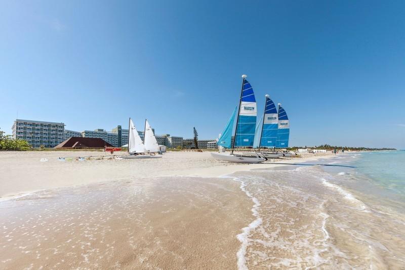 Melia Internacional Hotel Sailing Boats On Beach