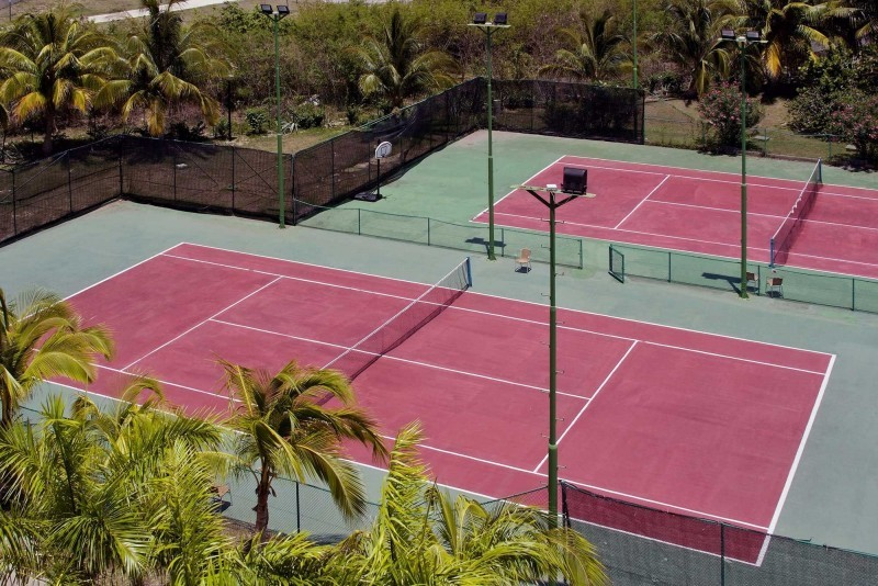 Melia Las Antillas Tennis Courts