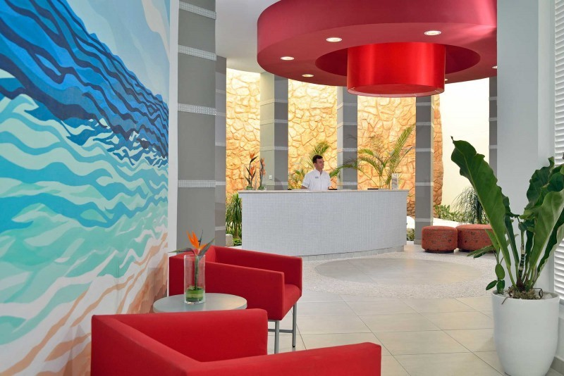 Melia Marina Spa Reception