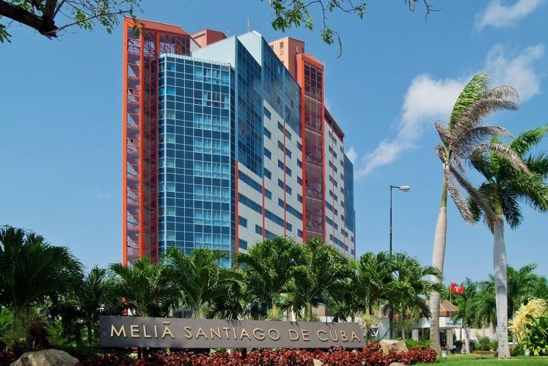 Melia Santiago Santiago de Cuba external view of hotel