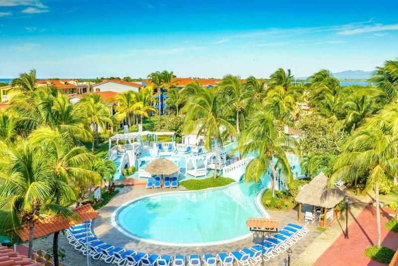 Memories Hotel Trinidad Aerial view of hotel