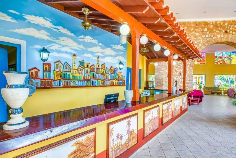 Memories Hotel Trinidad Hotel Reception