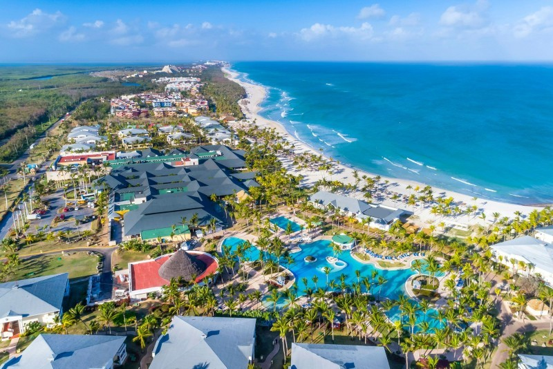 Paradisus Varadero Aerial View Of Resort