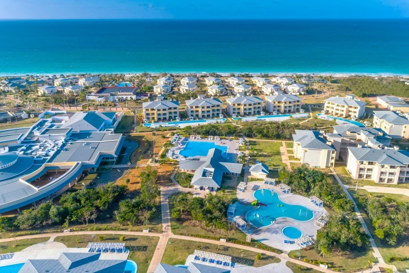 Paradisus Varadero Aerial View Of The Reserve Area