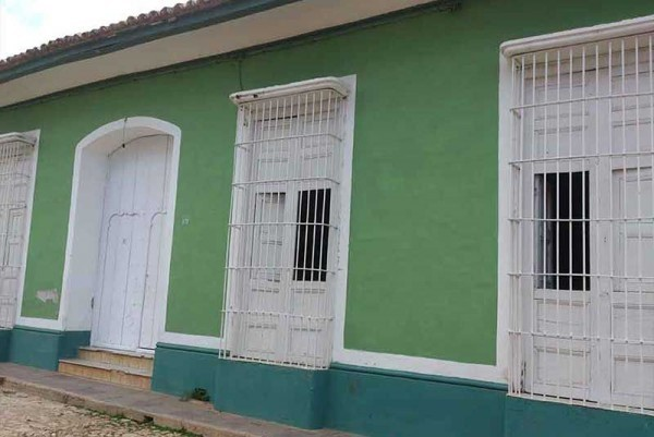 Casa Real 54 Trinidad Cuba External View