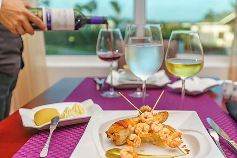 Royalton Cayo Santa Maria Senses Restaurant Menu Example