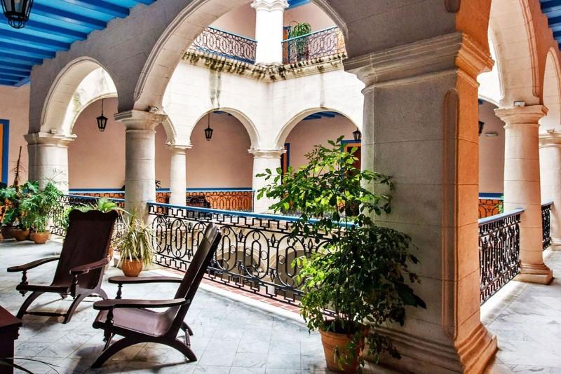Santa Isabel Havana Hotel Courtyard Level 1