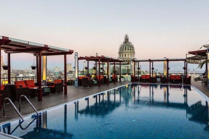 Saratoga Hotel Havana Rooftop Pool