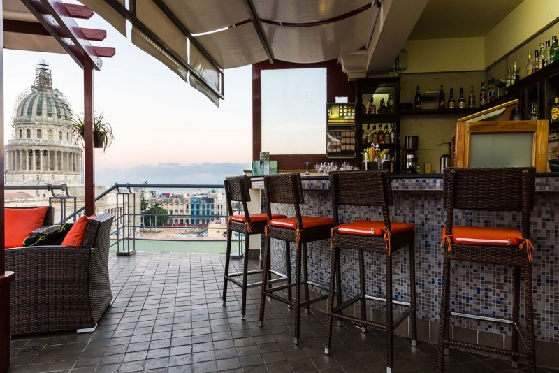 Saratoga Hotel Havana Rooftop Terrace Bar