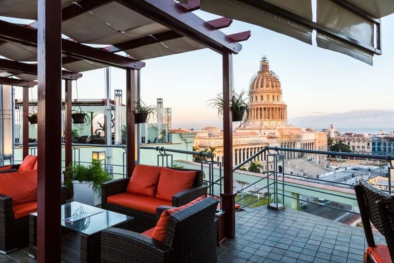 Saratoga Hotel Havana Rooftop Terrace