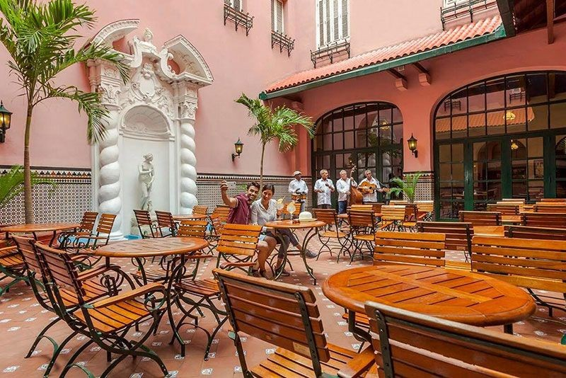 Sevilla Hotel Havana Hotel Bar