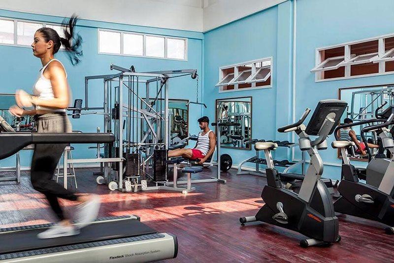 Sevilla Hotel Havana Hotel Gym