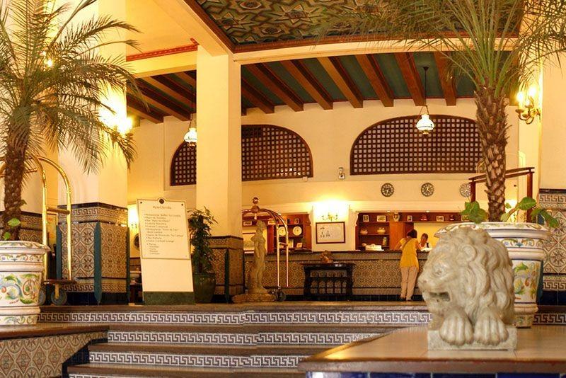 Sevilla Hotel Havana Main Reception