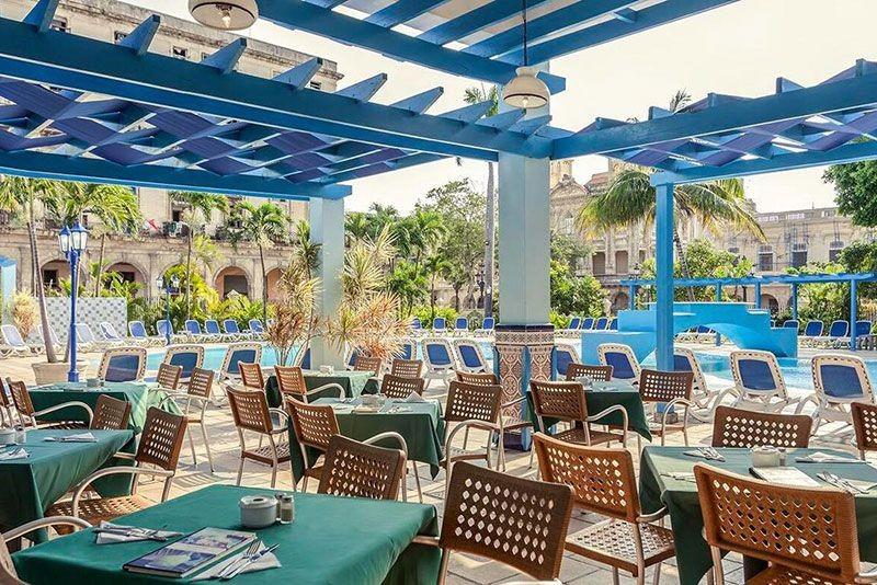 Sevilla Hotel Havana Poolside Snack Bar