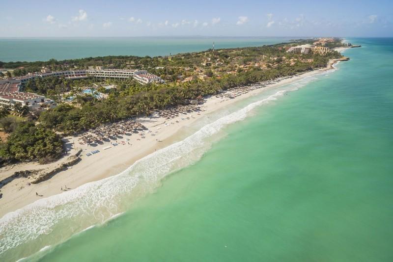 Sol Palmeras Aerial View Of Beach