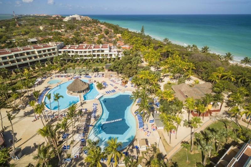 Sol Palmeras Aerial View Of Resort