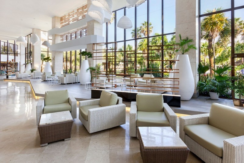 Sol Palmeras Hotel Lobby